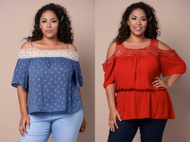 Off-the-shoulder textured top: This top is timeless and coquettish all at once. (Pinterest)