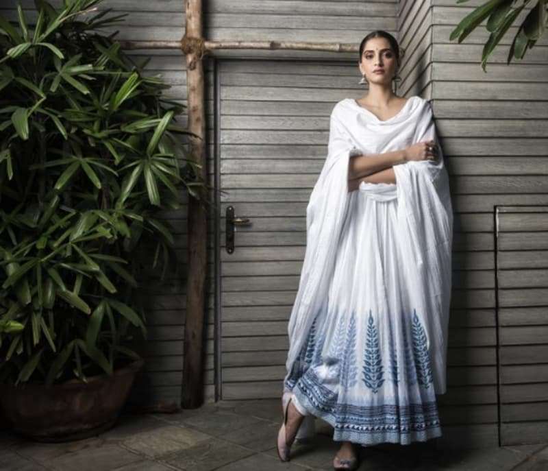 Sonam Kapoor looked beautiful as she posed for HT on her birthday. (HT photo)