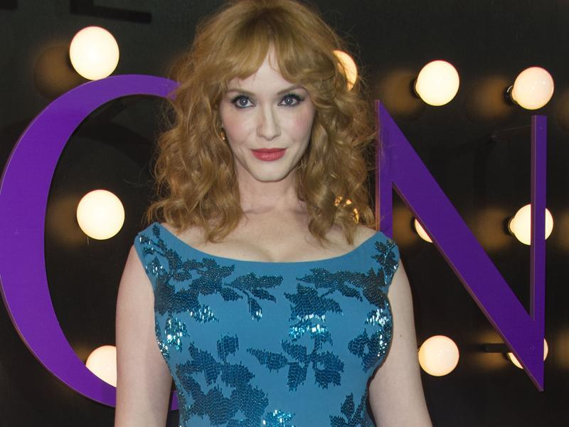 Mad Men star Christina Hendricks plays a supporting role in The Neon Demon. (AFP)