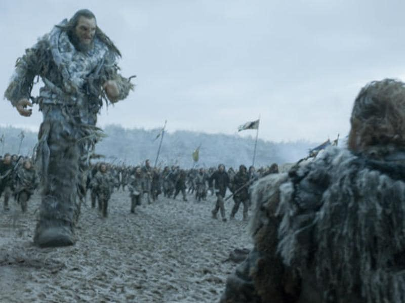 Wun Wun! If he dies, Westeros will not have anymore giants left. (HBO)
