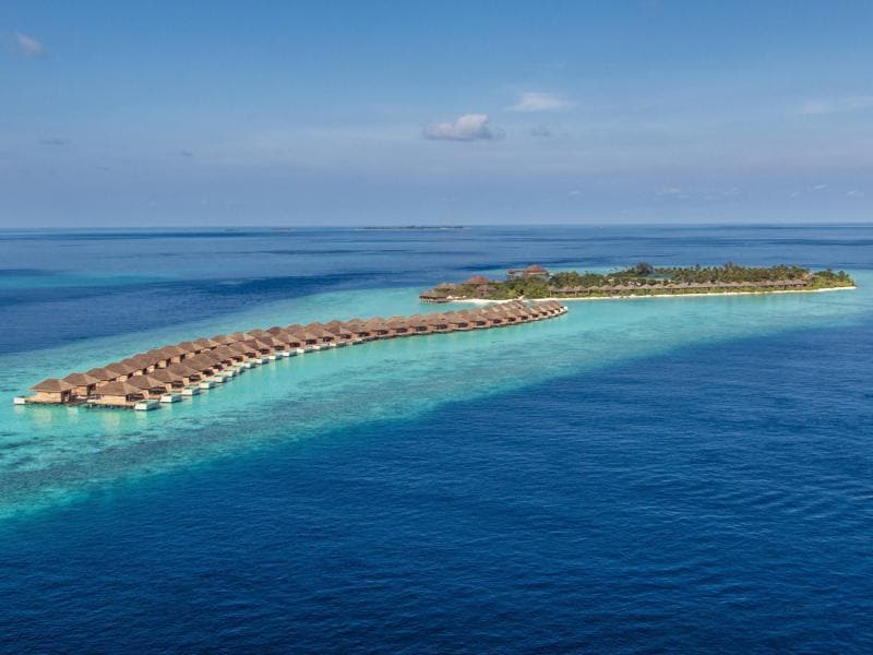 We have a sneak peek at the adults-only resort set to make waves this winter. (AFP)