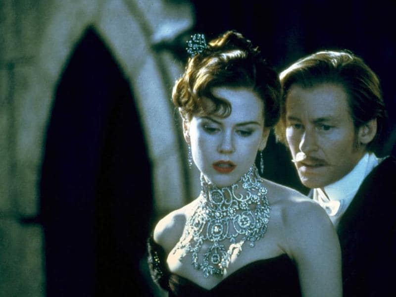 6. Satine in Moulin Rogue! (2001): The role of Satine earned Nicole an Oscar nomination. She looked ethereal in the beautiful movie opposite Ewan McGregor.