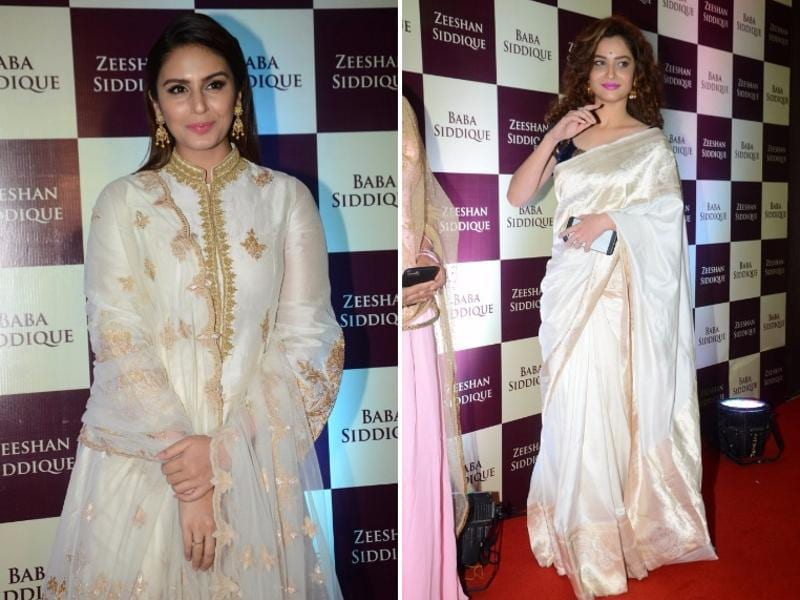 Actors Huma Quereshi and Ankia Lokhande were among the Bollywood stars who attended the party.  (IANS)