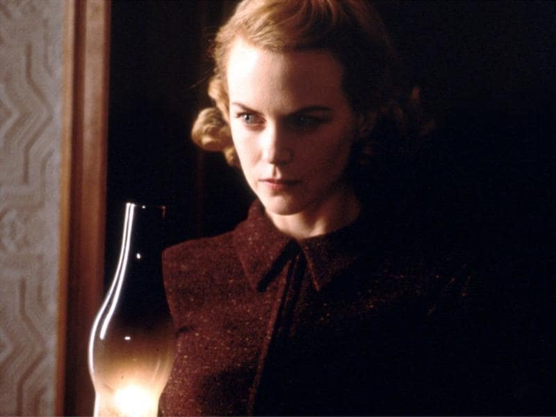 7. Grace Stewart in The Others (2001): Romance and drama aside, Kidman's made a wise choice with this movie which dealt with the supernatural.