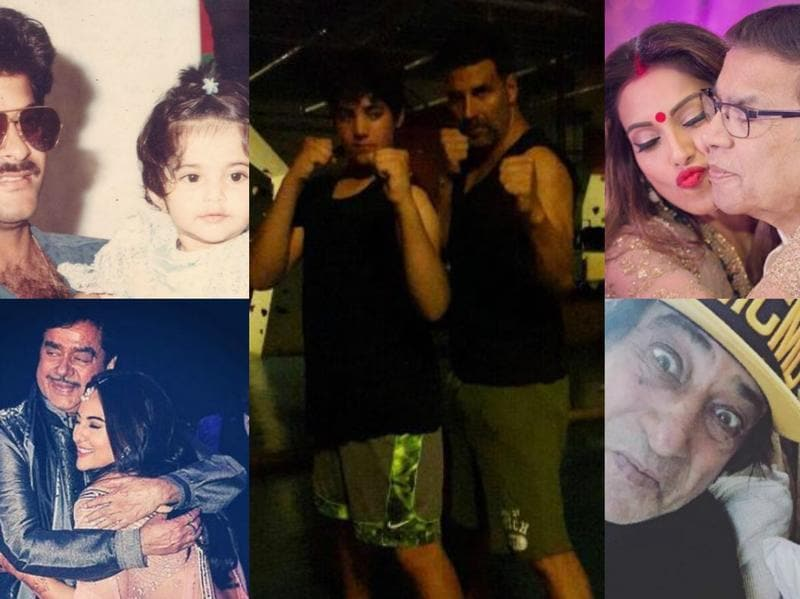 As we celebrated Fathers' Day on Sunday, Bollywood celebs took to social media to declare their love for their dads. From Sonam Kapoor's throwback pic to Shraddha Kapoor's fun selfie with Shakti Kapoor, here's a look at all the love stars displayed.  (Instagram)