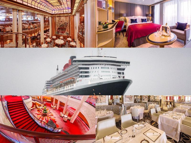 Take a virtual tour of the iconic Queen Mary 2 cruise ship that has hosted celebrities from across the world, including legendary Hollywood actress Audrey Hepburn. (AFP)