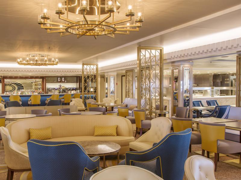 The new Carinthia Lounge will serve breakfast, lunch, afternoon tea and then tapas in the evening, accompanied by live music. (AFP)