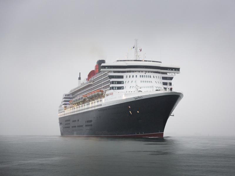The Queen Mary 2 has had its biggest makeover in 176 years for her first transatlantic voyage since undergoing a $132 million (£90 million) facelift. The 'remastered' QM2 sailed into the port of Southampton on Thursday, before setting off for New York sporting a new coat of paint and the addition of 50 new staterooms. (AFP)