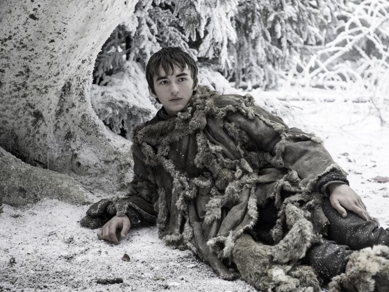 Bran is going to get painted like one of the French girls. Whatever, as long as he shows us what happened at the Tower of Joy. (HBO)
