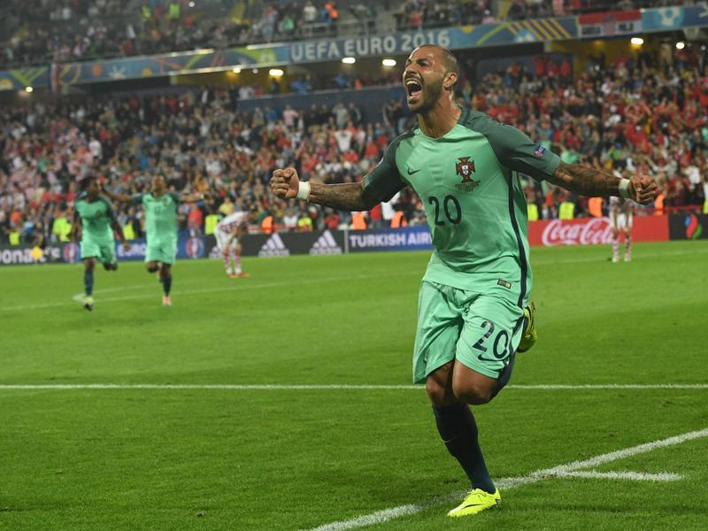 Ricardo Quaresma celebrates after scoring. (AFP)
