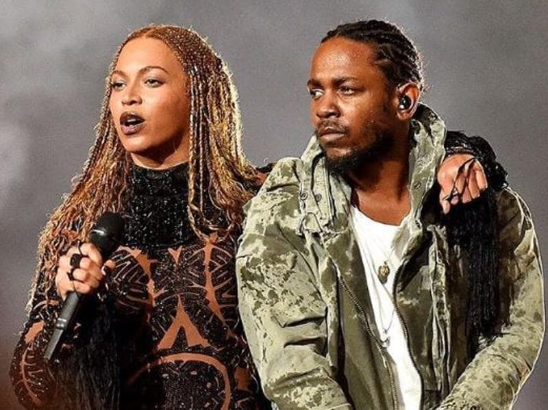 BET Awards began with an act that wasn't on the schedule — Beyonce and Kendrick Lamar performing Freedom, the anthemic track from Beyonce's album Lemonade. It was an intense, thoroughly choreographed performance, replete with flying sparks and smoke and a stage that looked convincingly like it was made of molten lava. (Instagram)