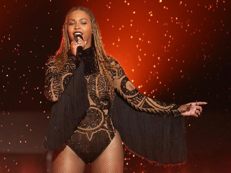 Beyoncé didn't just show up for a surprise opener at the awards, she also won multiple awards: Video of the Year (Formation), Coca-Cola Viewers' Choice, Centric Award and Best Female R&B/Pop Artist. (AP)