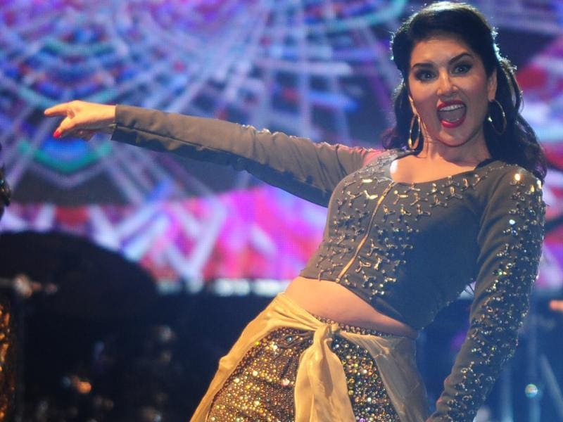 Sunny Leone shakes a leg in Chennai. Checkout her pictures from the event. (AFP)