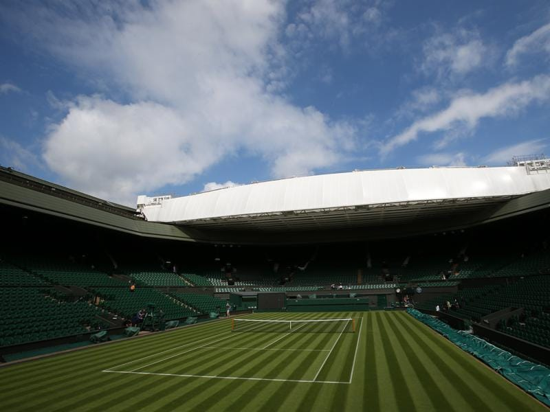 A view of Centre Court. (REUTERS)