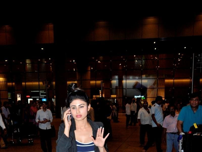 Mouni Roy was also part of the IIFA Awards, in Madrid. (IANS)
