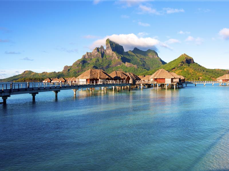 Bora Bora, French Polynesia was ranked as the third best place to visit in the world for 2016. (iStockphoto)