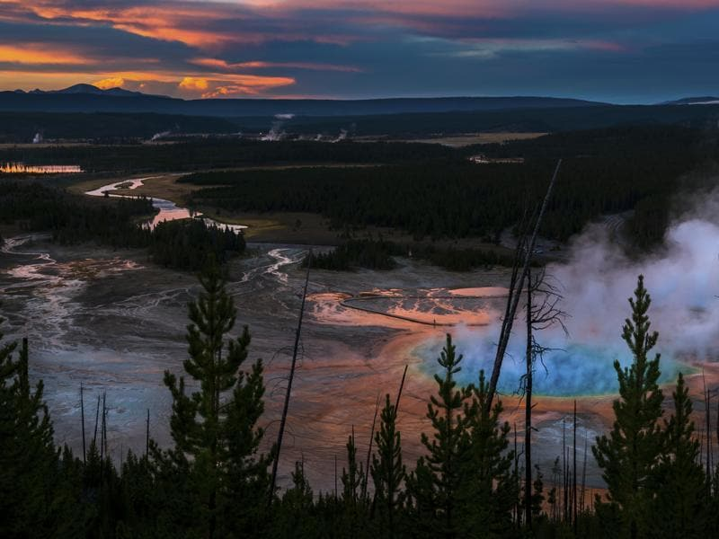 Yellowstone National Park was ranked the third best place to visit in the US for 2016. (iStockphoto)