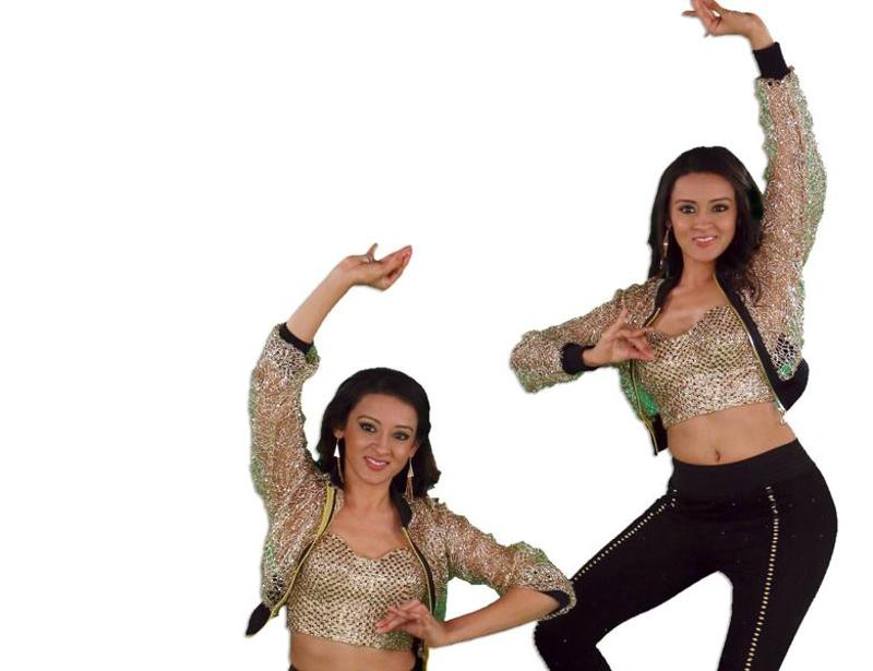 International dance sensation Poonam and Priyanka Shah  will make it difficult for others. (Colors TV)