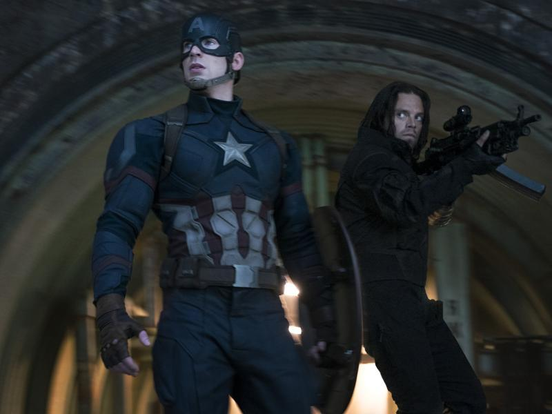 Captain America: The Winter Soldier further explored his relationship with his best friend, Bucky Barnes.
