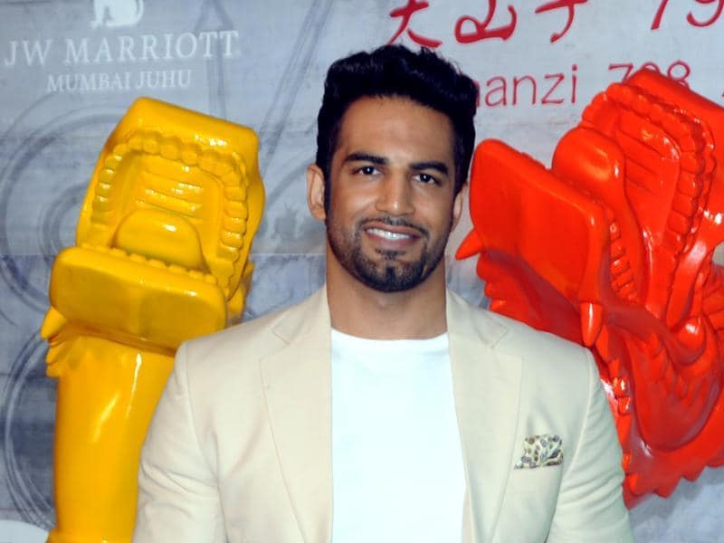 Actor-model Upen Patel, too, attended a party at a restaurant in Mumbai. (AFP)