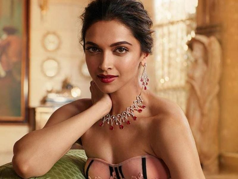 Queen supreme, Deepika Padukone recently shot for  a major jewellery brand and the product is, well, just see for yourself. (Instagram)