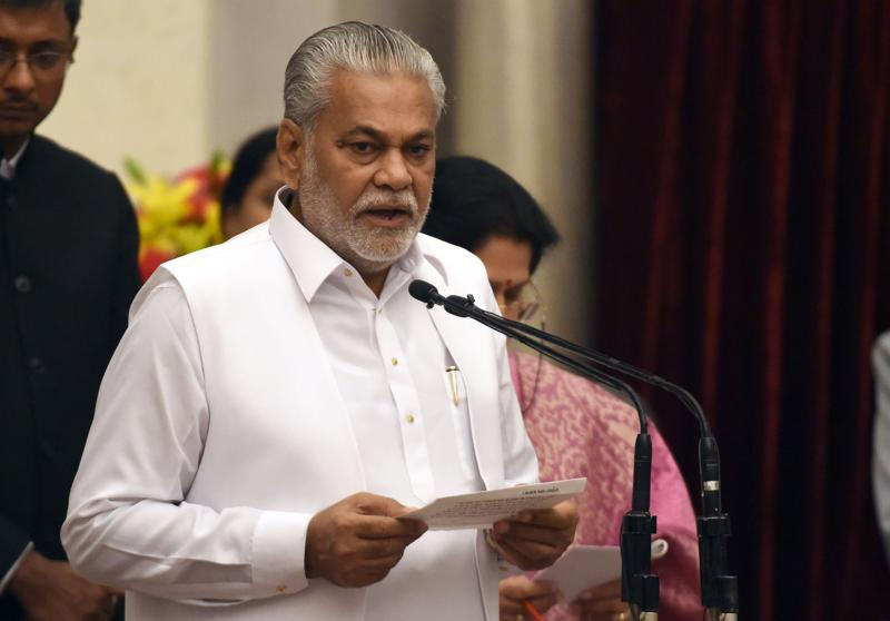Bharatiya Janata Party (BJP) politician, Parshottam Rupala as minister of state. (AFP)