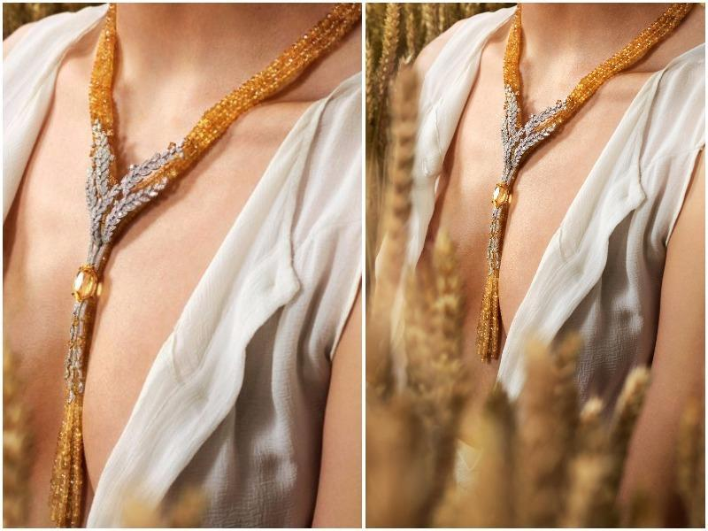 Chanel has unveiled a new jewellery collection inspired by wheat, which is a symbol of luck and abundance. It is also considered a good-luck charm. Here's a look at some of the standout pieces.  (AFP)