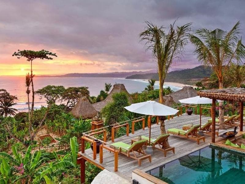 Nihiwatu, a luxury hotel on the Indonesian island of Sumba, has been voted the best in the world by readers of  Travel + Leisure.  (Instagram)