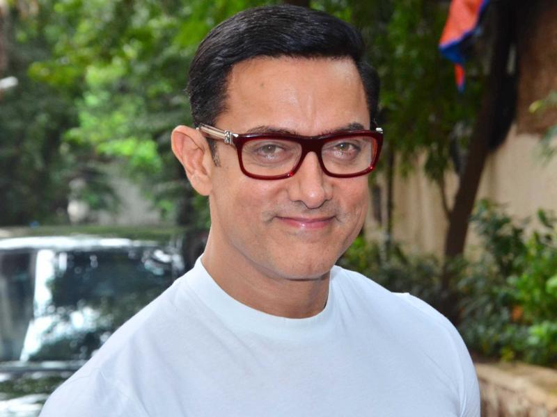 Aamir plays a wrestler in Dangal that is slated for a December release. (Viral Bhayani)