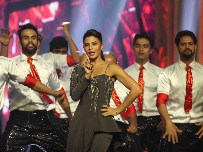 Jacqueline Fernandez also performed on the sets of India's Got Talent 7 finale. (IANS Photo)