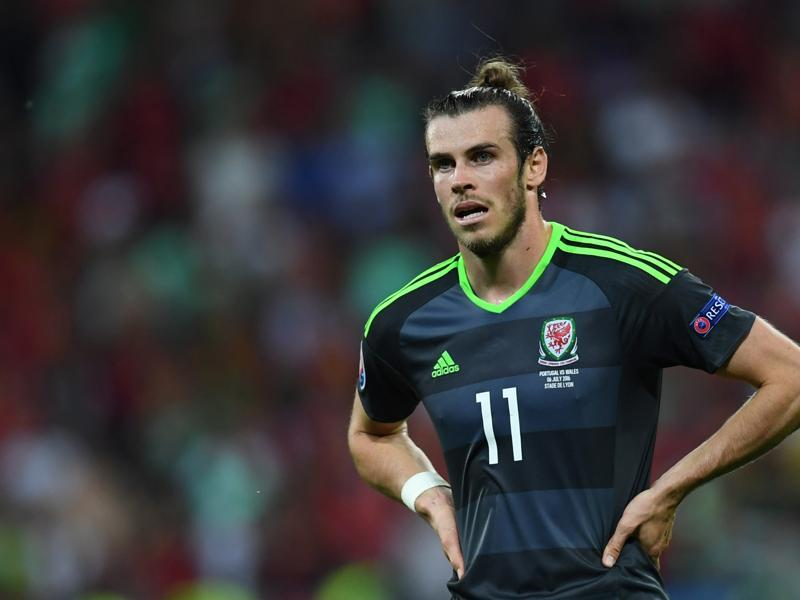 Wales' forward Gareth Bale reacts after Wales crashed out of Euro 2016.  (AFP Photo)