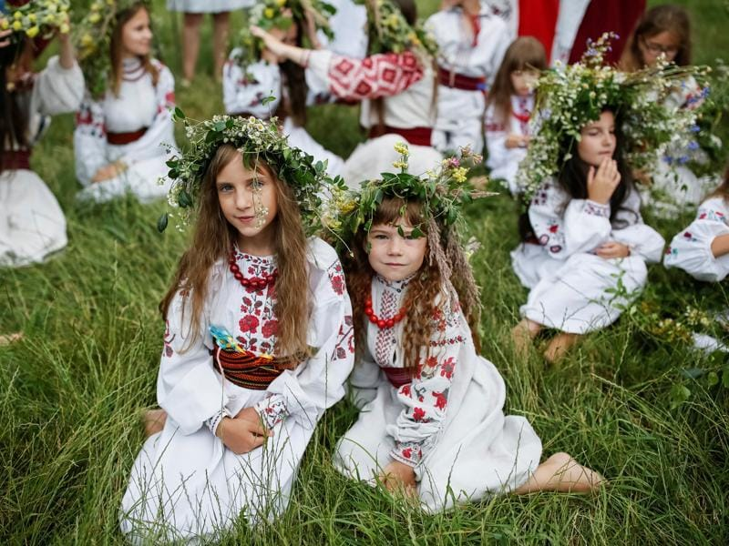 Inspite of pagan origins, the festival was eventually accepted into the Orthodox Christian calendar.  (REUTERS)