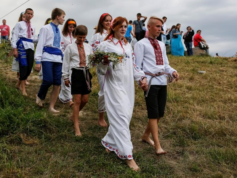 The ancient Kupala rites, are connected with the role of water in fertility and ritual purification. (REUTERS)
