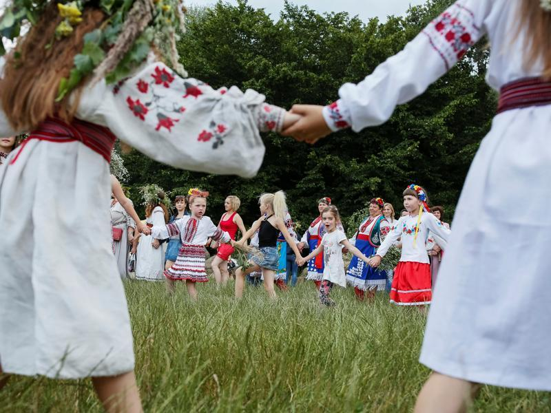 Kupala also represents an ancient fertility ritual. (REUTERS)