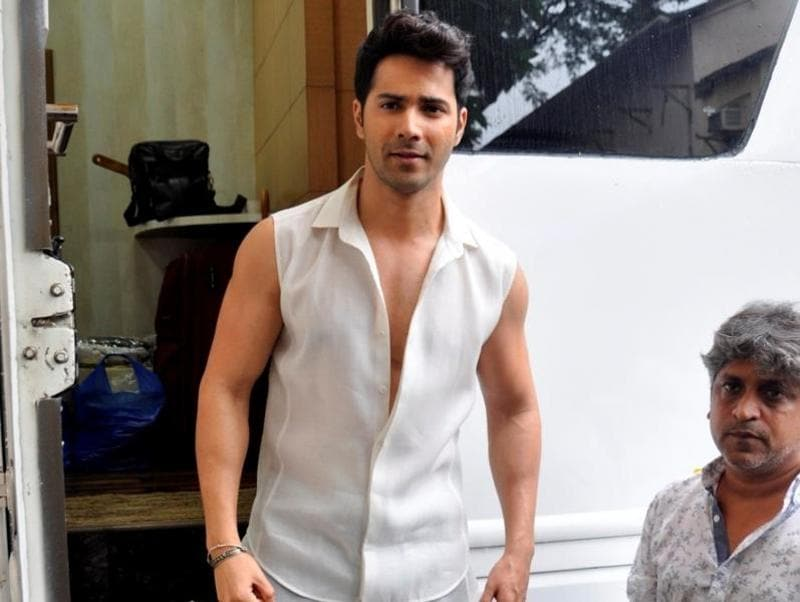 Varun Dhawan during the promotion of film Dishoom on the sets of So You Think You Can Dance.  (IANS)