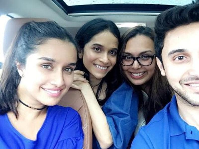 When Shraddha Kapoor met her best friends, it was smiles and fun all around. (Instagram)