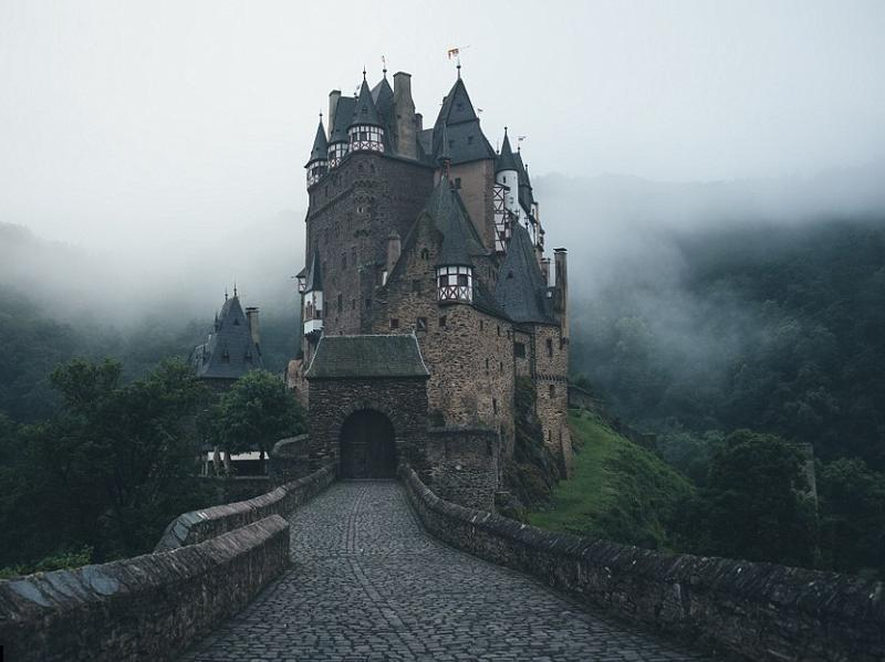 The magical looking Eltz castle in Germany has a fantasy feel to it with turrets and flag poles peaking out of its Gothic architecture. (Instagram)