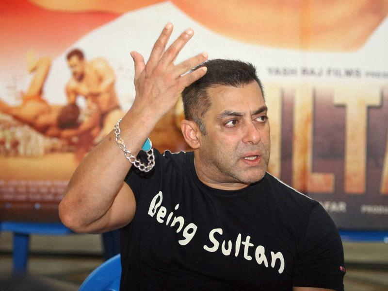 Salman Khan played a wrestler in Sultan. (PTI)
