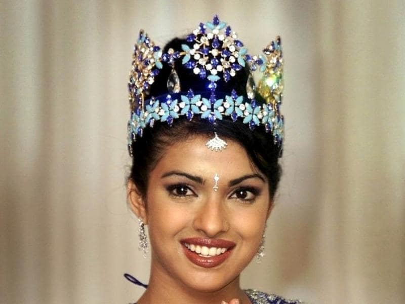 Priyanka Chopra won the Miss World title in 2000.  (HT)