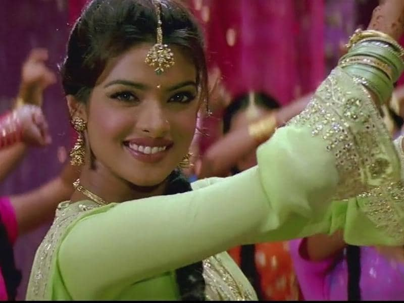 Priyanka Chopra entered Bollywood's A-league soon with Mujhse Shadi Karoge (2004) where she was paired opposite Salman Khan and Akshay Kumar.