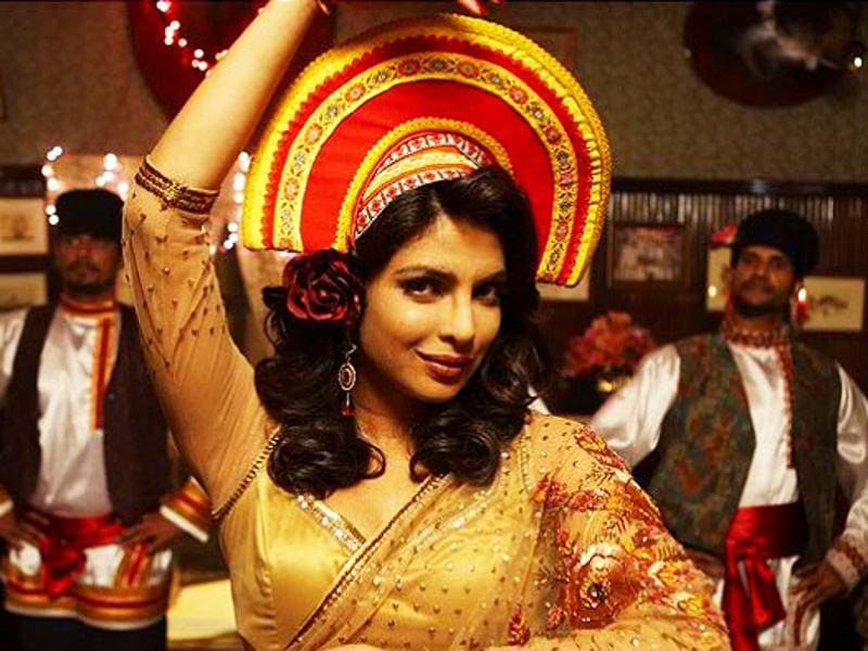 Critics remain divided over Vishal Bhardwaj's 7 Khoon Maaf (2011), but it remains one of the most versatile display of Priyanka's skills onscreen.