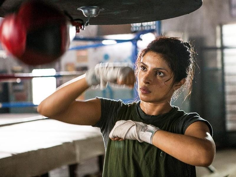 Oomung Kumar's decision to cast Priyanka Chopra as Mary Kom in his biopic of the boxing champion had mixed reactions but the movie further streghtened her space in the industry.