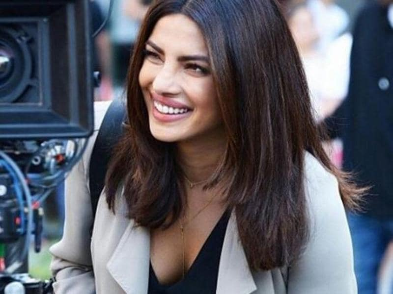 Priyanka became the first Indian to play a lead character in an American with ABC's Quantico (2015). She is now shooting for the second season of the show. (iNSTAGRAM)