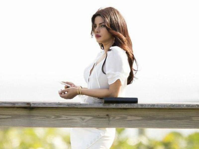 Priyanka will be seen playing a villainous role in Baywatch. (Twitter)