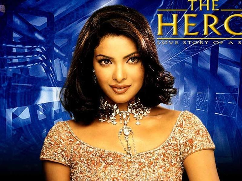 Priyanka Chopra made her Bollywood debut with Sunny Deol-Preity Zinta-starrer The Hero - Love Story of A Spy (2003).