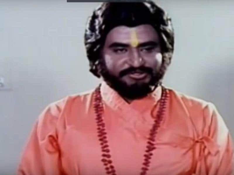 And how about this sadhu in Moondru Mugam (1982).