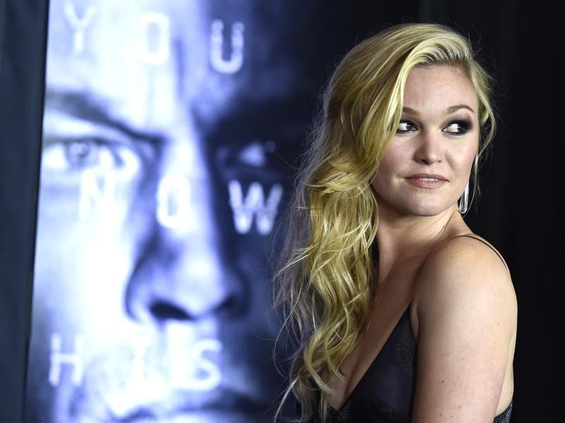 Actor Julia Stiles returns as Nicky Parsons in the fifth Jason Bourne movie. (AFP)