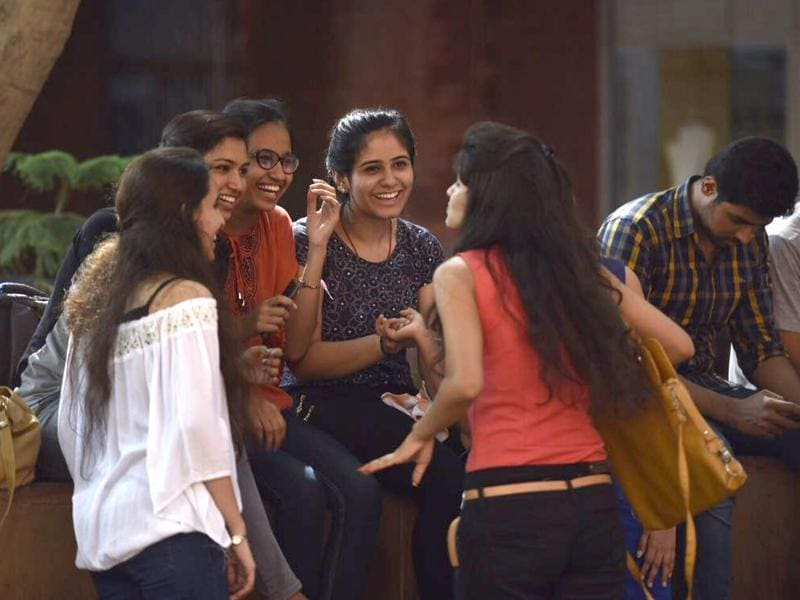 And so another year of learning, co-curricular activities and everlasting friendships begins at DU. (Saumya Khandelwal/HT photo)