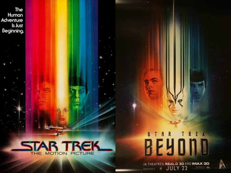 With Star Trek Beyond opening across the world on Friday - marking the series' 50th anniversary  - we take a look at all the big screen adventures of the USS Enterprise crew.