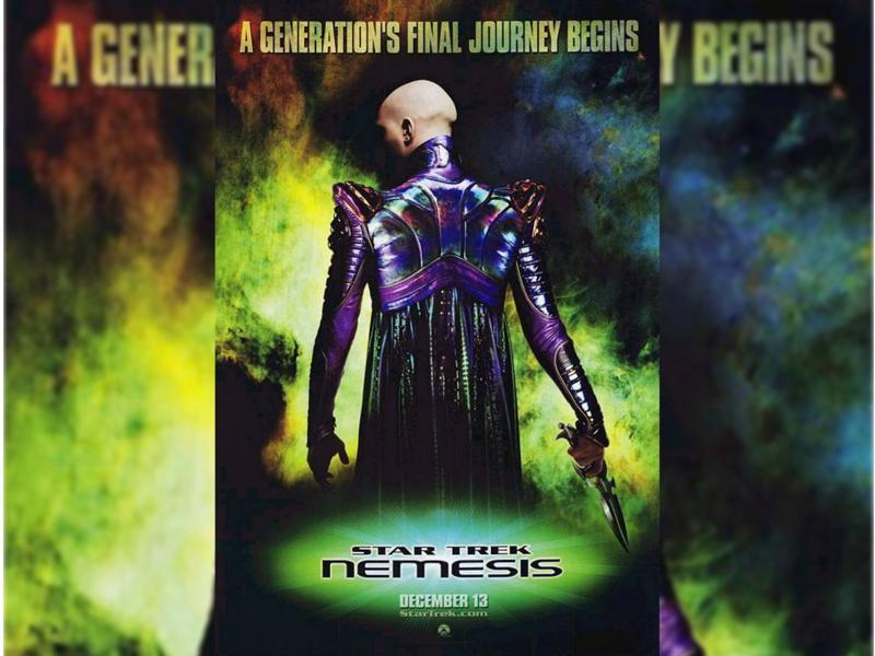 Star Trek: Nemesis (2002) - The Enterprise is diverted to the Romulan homeworld Romulus, supposedly because they want to negotiate a peace treaty. (Paramount Pictures)